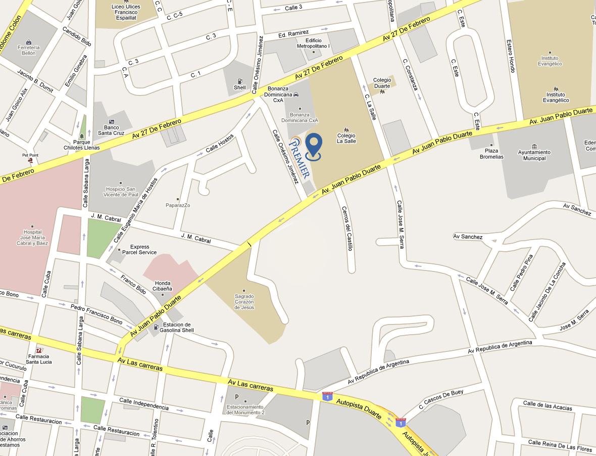 Premier Nuevo Mapa